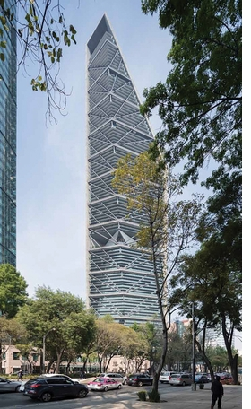 Featured image is reproduced from 'Benjamín Romano: Reforma Tower.'