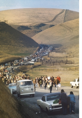 Featured image is reproduced from 'Bill Owens: Altamont 1969.'