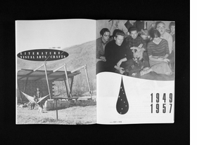 Featured spread is reproduced from 'Black Mountain.'