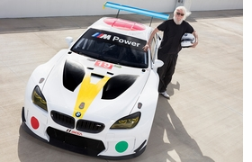 Featured image is reproduced from 'BMW Art Cars.'