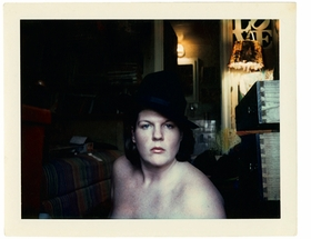Featured image is a self-portrait from 'Brigid Berlin: Polaroids.'