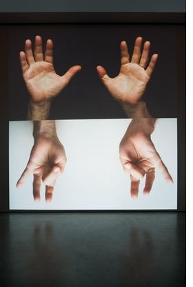 Featured image is reproduced from 'Bruce Nauman: Contrapposto Studies'.