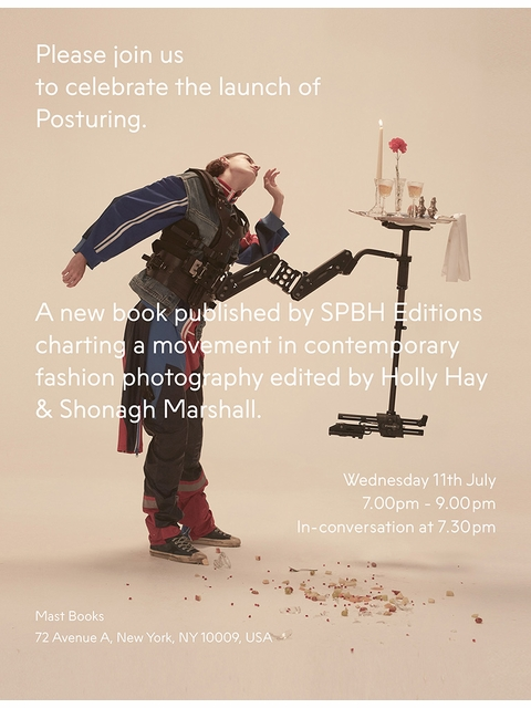 Bruno Ceschel & Shonagh Marshall to launch 'Posturing' at MAST