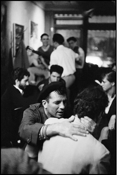 Burt Glinn's photographs of the New York Beat Scene on view at Jason McCoy Gallery