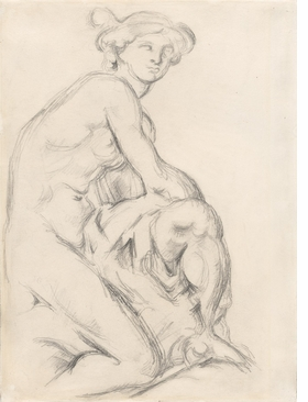 Featured image is reproduced from 'Cézanne: The Drawings'.