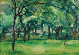 Featured image is reproduced from 'Cézanne: Masterpieces from the Courtauld'.