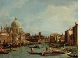Featured image is reproduced from 'Canaletto 1697–1768.'