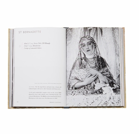 Above: a spread with recipe for St. Bernadette from 'Cecil Beaton's Cocktail Book.'