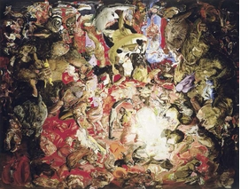Featured image is reproduced from 'Cecily Brown: Where, When, How Often and with Whom.'