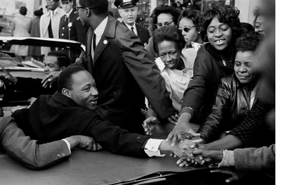 Celebrate Martin Luther King with 'Leonard Freed: Black in White America'