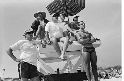 Celebrate Memorial Day weekend with Joseph Szabo's Jones Beach Lifeguard photos