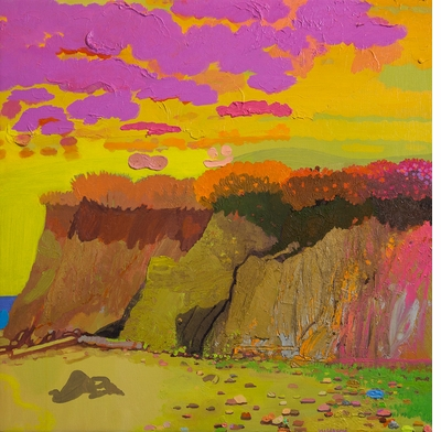 """Celebrate Mother's Day weekend with Daniel Heidkamp's """"art vortexes"""" in 'Landscape Painting Now'"""