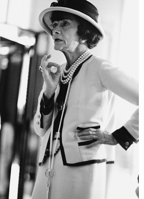 Featured image is reproduced from 'Chanel: Her Life.'
