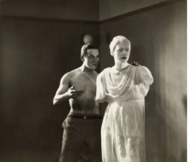 """Featured image, a film still by Sacha Masour, is from Jean Cocteau's <I>The Blood of a Poet (Le sang d'un poète)</I>, a 35 mm, 50 minute black-and-white film made in 1930. It is reproduced from the Guggenheim Museum's <a href=""""9780892074044.html"""">Chaos and Classicism: Art in France, Italy and Germany, 1918-1936</a>. Image is courtesy Comité Jean Cocteau, © 2010 Artists Rights Society (ARS), New York/ADAGP, Paris."""