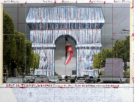 Featured image is reproduced from 'Christo and Jeanne-Claude: Projects 1963–2020.'