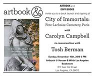 'City of Immortals' book launch at Artbook at Hauser & Wirth Los Angeles