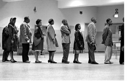 Civil Rights—and voting—inspiration in 'Leonard Freed: Black in White America'