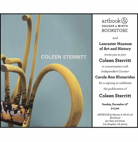 Coleen Sterritt book launch at Artbook at Hauser & Wirth Bookstore, LA