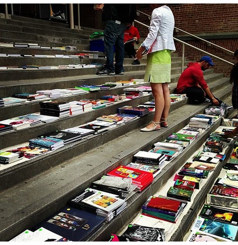 Come to the 2015 ARTBOOK @ MoMA PS1 Stoop Sale!