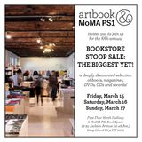 Come to the Artbook @ MoMA PS1 Fifth-Annual Bookstore Stoop Sale: The Biggest Yet!