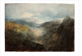 Featured image is reproduced from 'Conversations with Turner: The Watercolors.'