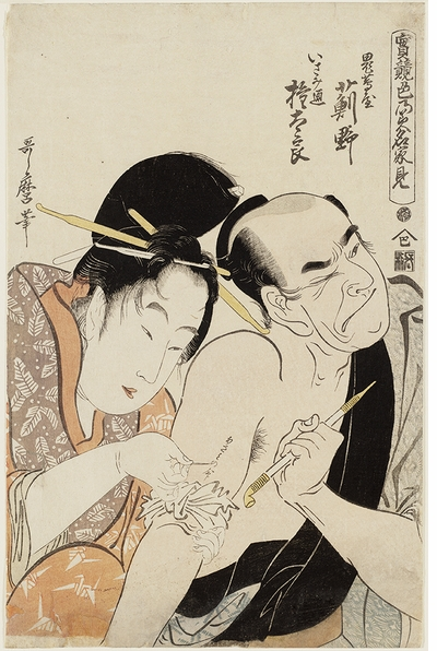 Courtesans, clients and codes in eighteenth-century Japanese tattoos