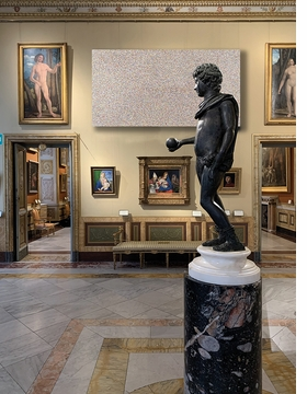 Featured image is reproduced from 'Damien Hirst: Galleria Borghese'.