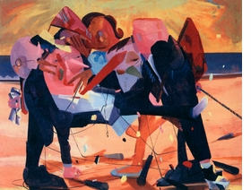 """Featured image, Dana Schutz's <i>Party</i>, 2004, is reproduced from <a href=""""9788836618712.html"""">Dana Schutz</a>."""