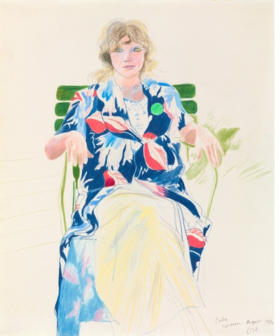 'David Hockney: Drawing from Life' is new from National Portrait Gallery, London