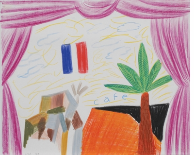 David Hockney, palm trees and homoeroticism in 'Paradise is Now'