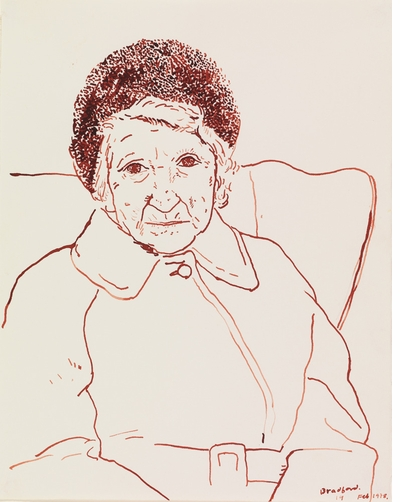 David Hockney's mother, a lifelong muse
