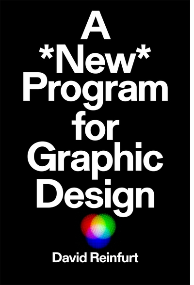 "David Reinfurt speaking on ""A *New* Program for Graphic Design"" at SVA"