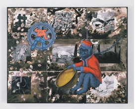 Featured image is reproduced from <I>David Wojnarowicz: Brush Fires in the Social Landscape</I>.