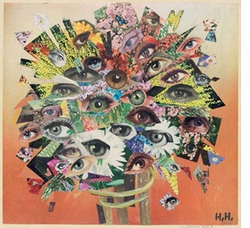"""""""The Bouquet"""" (1929-65), by Hannah Höch, is reproduced from <I>Day Dreams, Night Thoughts: Fantasy and Surrealism in the Graphic Arts and Photography</I>."""