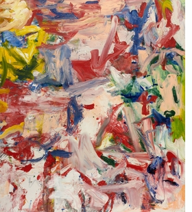 Featured image is reproduced from 'De Kooning: A Retrospective.'