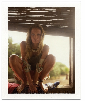 Featured image is reproduced from 'Dewey Nicks: Polaroids of Women.'