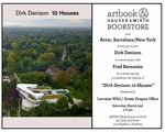 'Dirk Denison 10 Houses' conversation & book launch at Artbook at Hauser & Wirth Los Angeles