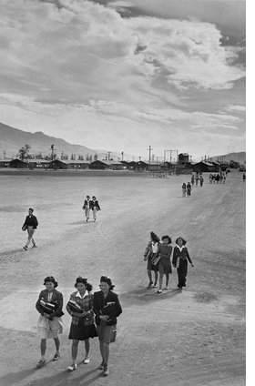 Featured image is reproduced from 'Displaced: Manzanar 1942–1945.'