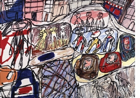 Featured image is reproduced from 'Jean Dubuffet and the City 1943–1984.'