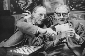 Featured image is: Henri Cartier-Bresson, <I>Marcel Duchamp and Man Ray at Man Ray's home</I>, 1968. © Henri Cartier-Bresson / Magnum Photos.