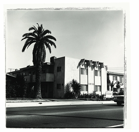 """""""Atlantic Boulevard,"""" 1965, is reproduced from 'Ed Ruscha: Los Angeles Apartments.'"""