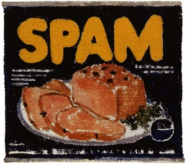 """Spam Study"" (1961-62) is reproduced from 'Ed Ruscha: Very.' © Ed Ruscha. Courtesy of the artist and Gagosian."