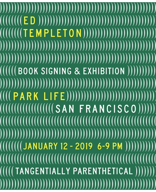 Ed Templeton signing 'Tangentially Parenthetical' at Park Life