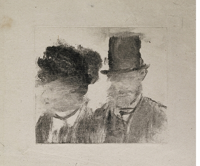 Edgar Degas: A Strange New Beauty, Heads of a Man and a Woman