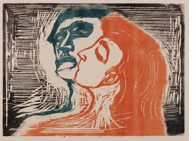 Featured image is reproduced from <I>Edvard Munch: A Genius of Printmaking</I>.