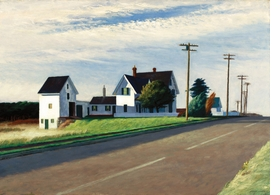 Featured image is reproduced from 'Edward Hopper: A to Z.'
