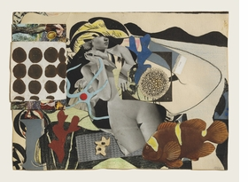 """""""Erotic Landscape"""" (1942) is reproduced from 'Eileen Agar: Angel of Anarchy.'"""