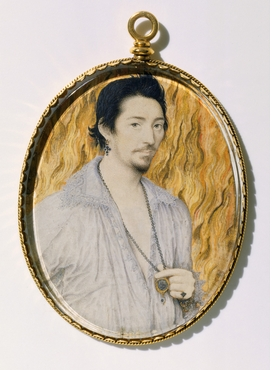 Featured image is reproduced from 'Elizabethan Treasures: Miniatures by Hilliard and Oliver.'