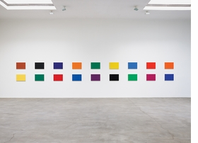 Featured image is reproduced from 'Ellsworth Kelly: Color Panels for a Large Wall.'