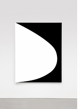 """White Curve Relief"" (2010) is reproduced from <I>Ellsworth Kelly: Reliefs 2009-2010</I>."